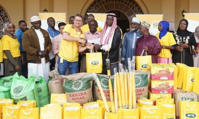 MTN donates to Old Kampala Mosque in Ramadan Drive