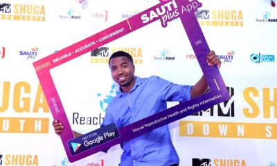 Humphrey Nabimanya the Founder and Team Leader at Reach A Hand Uganda during the SautiPlus launch.