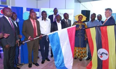 Best Farmers flagged off at dfcu Bank head offices.