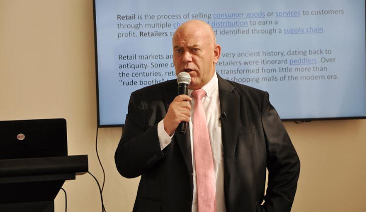 Marc Du Toit, the Head of Retail at Knight Frank Uganda