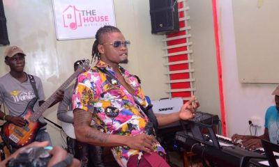 Pallaso rehearses for the Bell Jamz Listeners Experience.