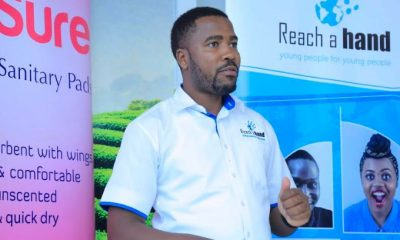 Humphrey Nabimanya, Founder & Team Leader of Reach A Hand Uganda