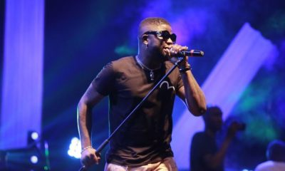 Skales performs at Blankets and Wine