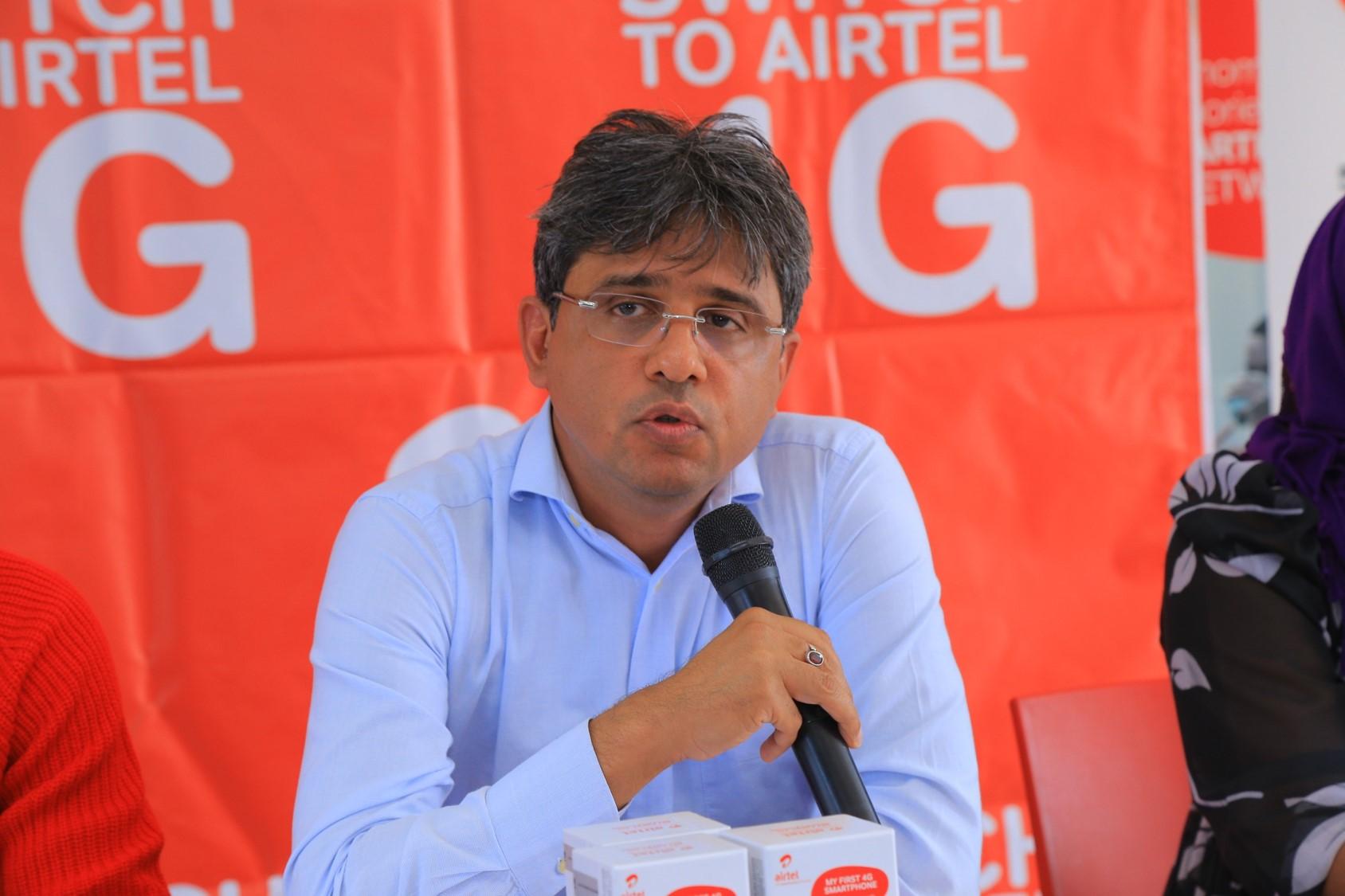Amit Kapur, Airtel Uganda CCO