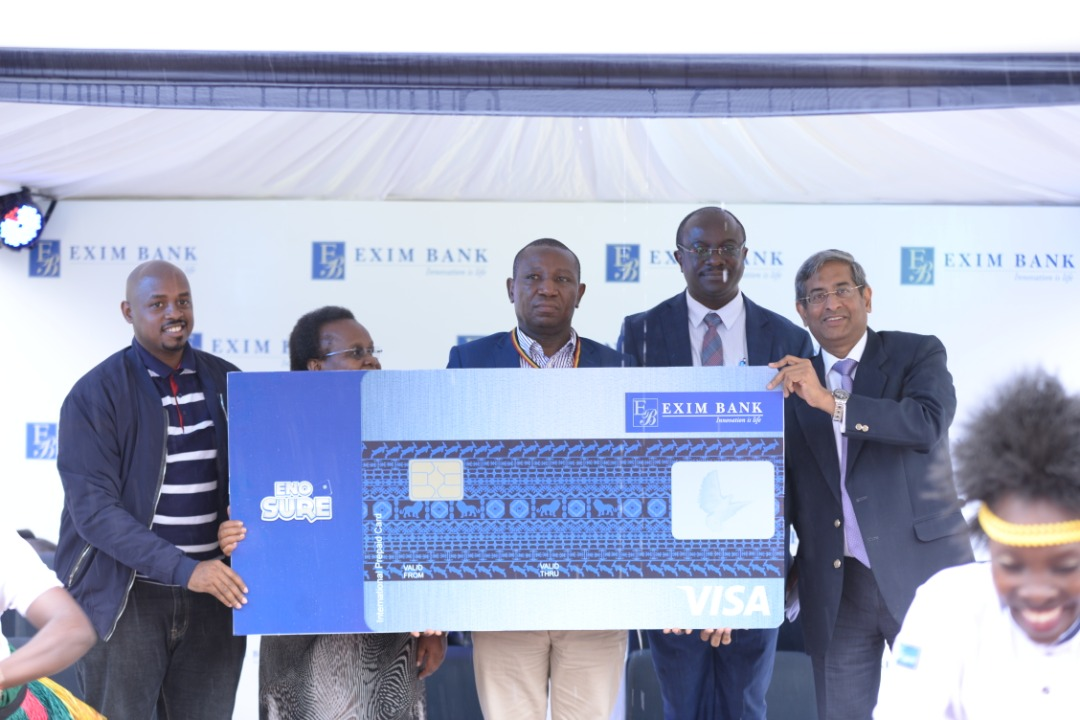 Exim bank introduces Prepaid Cards.