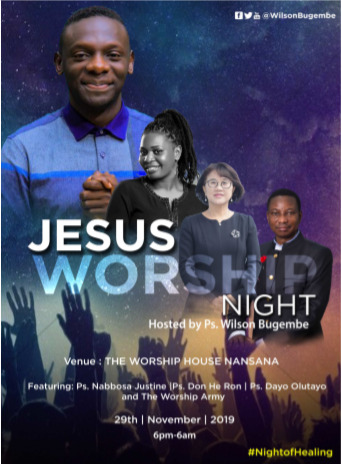 Worship Night, Wilson Bugembe