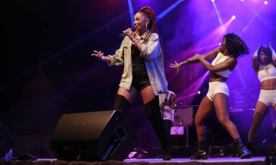 Mya performs at Lugogo Cricket Oval