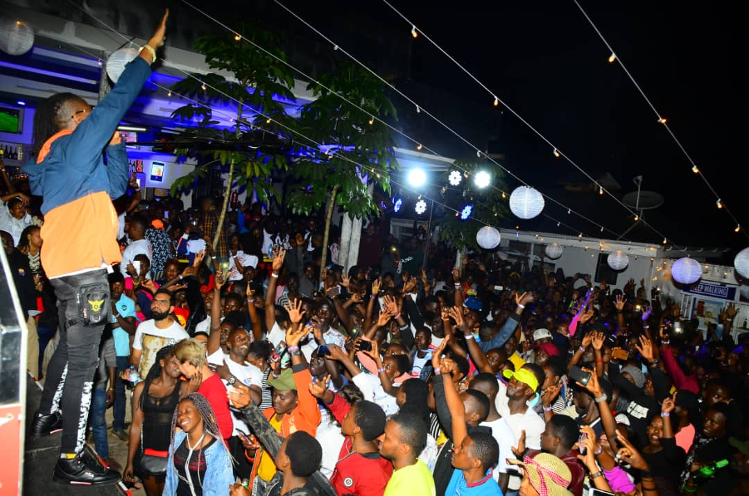 Pallaso performs at the Highball Tour in Fort Portal