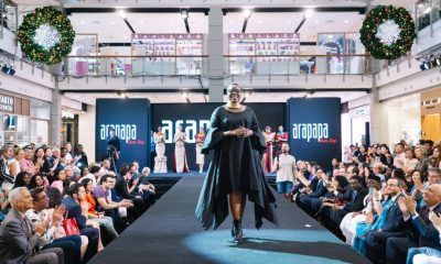 Santa Azo showcases International Thai Silk Fashion Week.