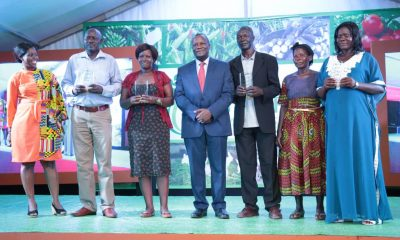 dfcu Bank rewards Uganda's top Farmers