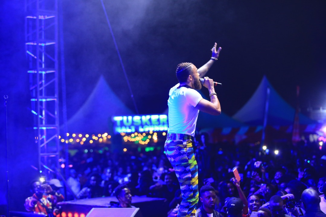 Jidenna performs at Blankets and Wine