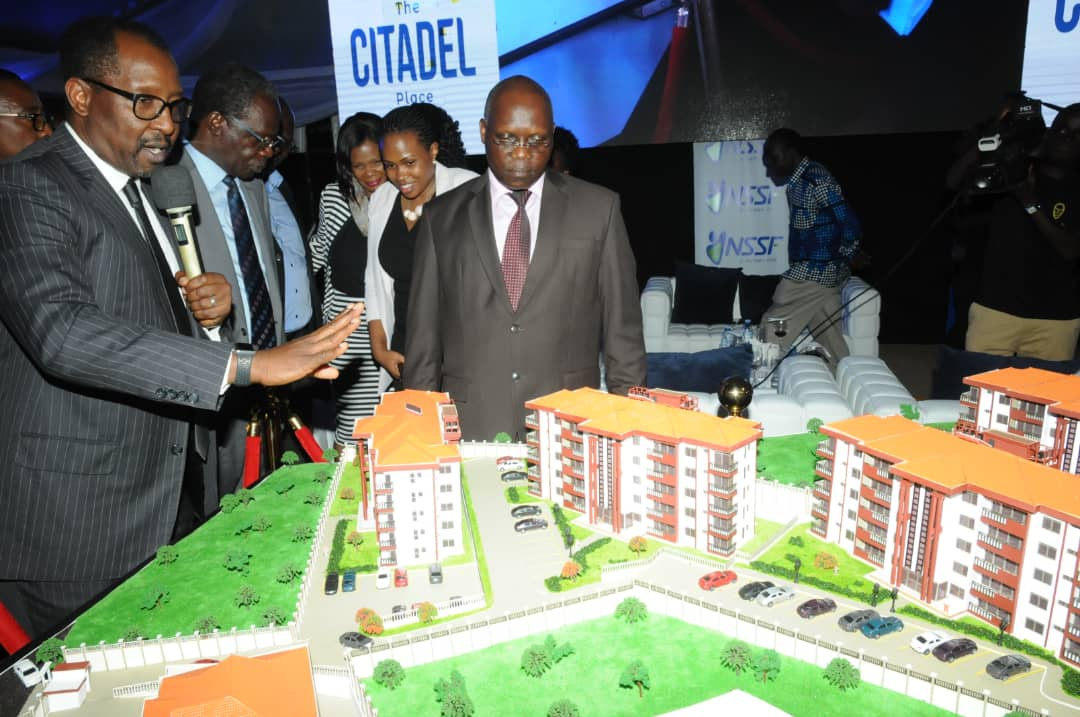 The National Social Security Fund (NSSF) has officially opened the Citadel Place, Mbuya, its 40-units housing project.