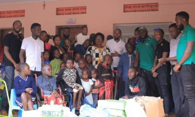 Comedy Store Uganda has donated basic items and cash to Katalemwa Cheshire Rehabilitation Home