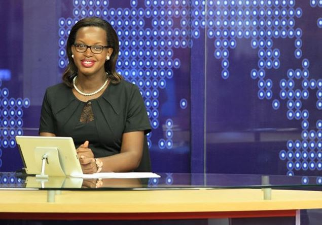Flavia Tumusiime appeared n the 9PM News Bulleting without her wedding ring.