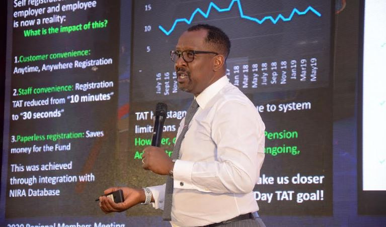 NSSF MD Richard Byarugaba