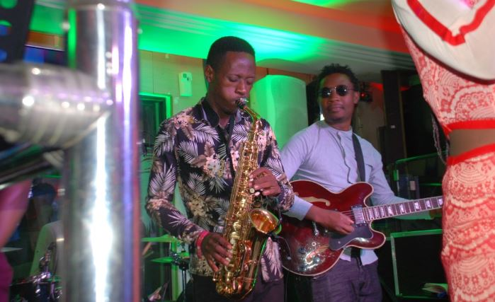 Black Roots Unlimited perform at Ciroc Pop Night at Club Guvnor