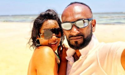Zahara Toto enjoys quality time with new man Reuben Robert.