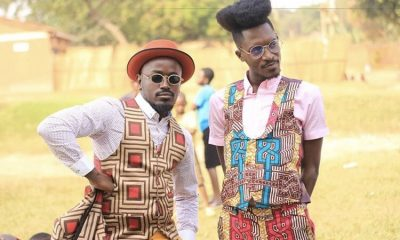 "Ykee Benda and A Pass in ""Turn Up The Vibe"" video."
