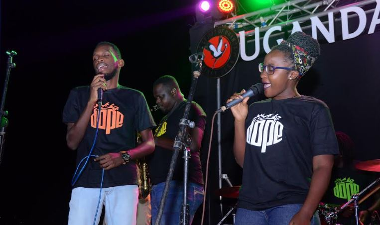 "A Ka Dope band perform at the ""One Night Only"" edition launch"