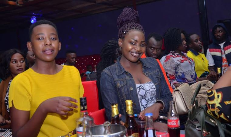 Revelers enjoy themselves as Vinka premiered Red Card video at Fame Lounge