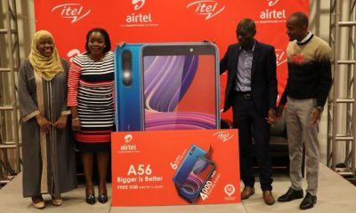 Itel Mobile Uganda has partnered with Airtel Uganda to launch their latest smartphone device, Itel A56.