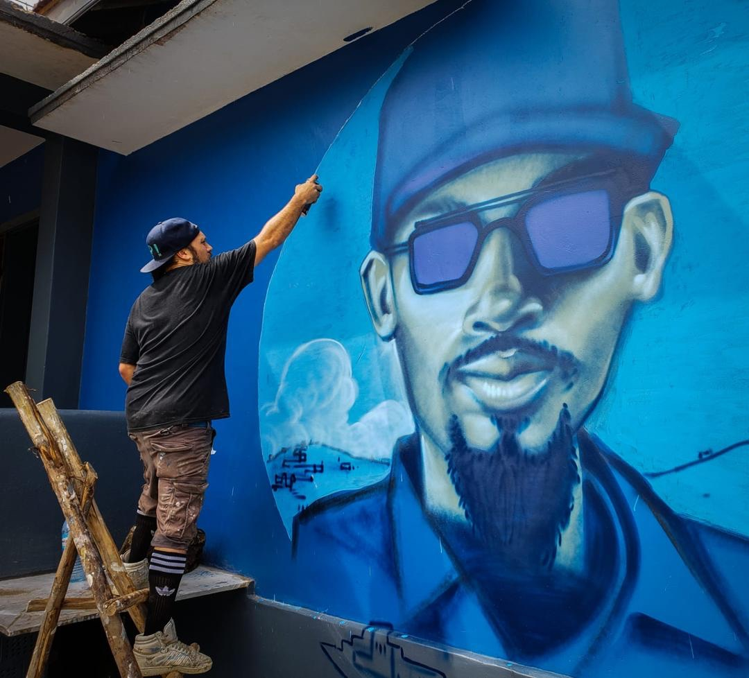 Famous Canadian Graffiti Artist Monk E Gives Kampala New