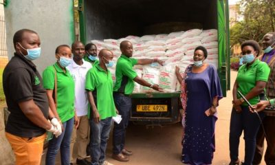 African Queen, a leading distributor for fast-moving consumer goods in Uganda, has donated 18 tonnes of maize towards COVID-19 relief efforts.