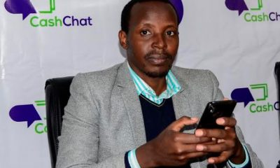 Asher Namanya, the founder and developer of Cash Chat App