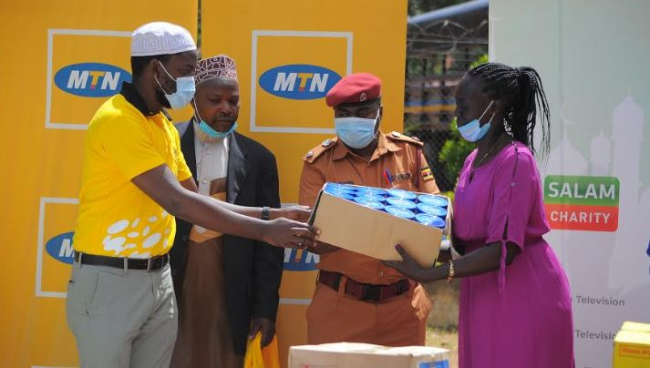 MTN Uganda and its partner, Salaam Foundation have donated food packages to Luzira Maximum Prisons inmates.