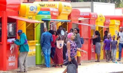 Mobile money business in Uganda