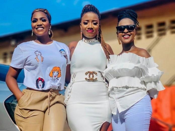 Irene Ntale, Lydia Jazmine & Lilian Mbabazi At The Club Beatz At Home  Concert - BigEye.UG