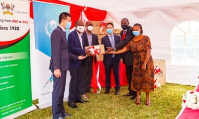 Huawei has donated ICT study equipment to Makerere University College of Computing and Information Science.