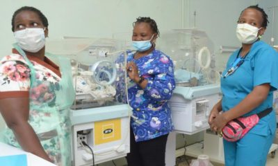 The situation at the newly refurbished NICU at Kawempe National Referral Hospital