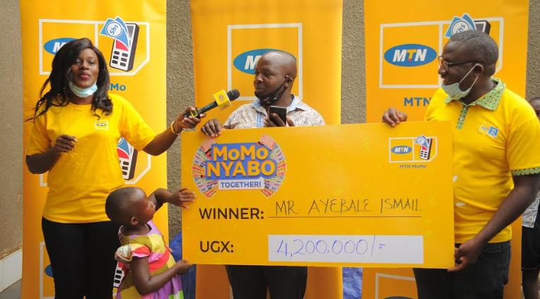 Ayebale Ismail who won Ugx 4.2 million in MoMo Nyabo promo is going to invest his cash prize in Fish business.
