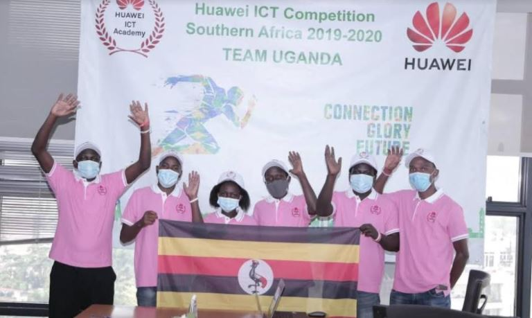Team Uganda to participate in the Sub-Sahara African finals of the Huawei Global ICT Competition