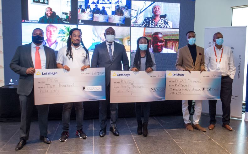 •	Letshego Holdings Limited (Letshego Group) sponsored a 'Pitch Day' in partnership with Botswana Innovation Hub to showcase the great works from 8 budding startup innovators.