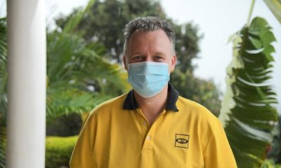 MTN Uganda Chief Executive Officer, Wim Vanhelleputte