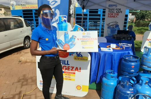 "Vivo Energy Uganda, has launched its ""Shell Gas Refill Nyongeza"" slashing Shell Gas refill prices."