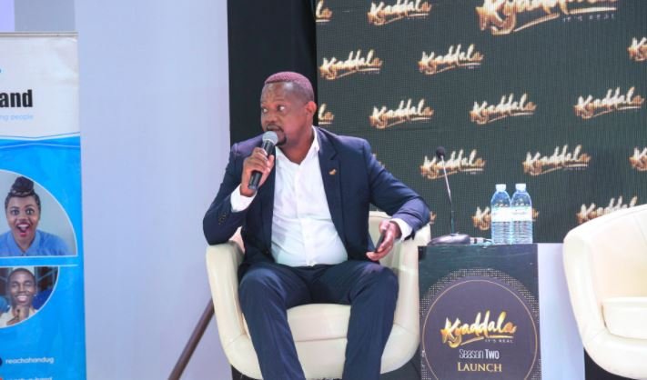Joe Kigozi at the Kyaddala season two launch