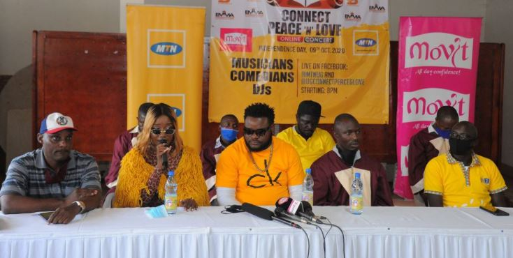 Top artistes lined up for the UG Connect Peace and Love concert