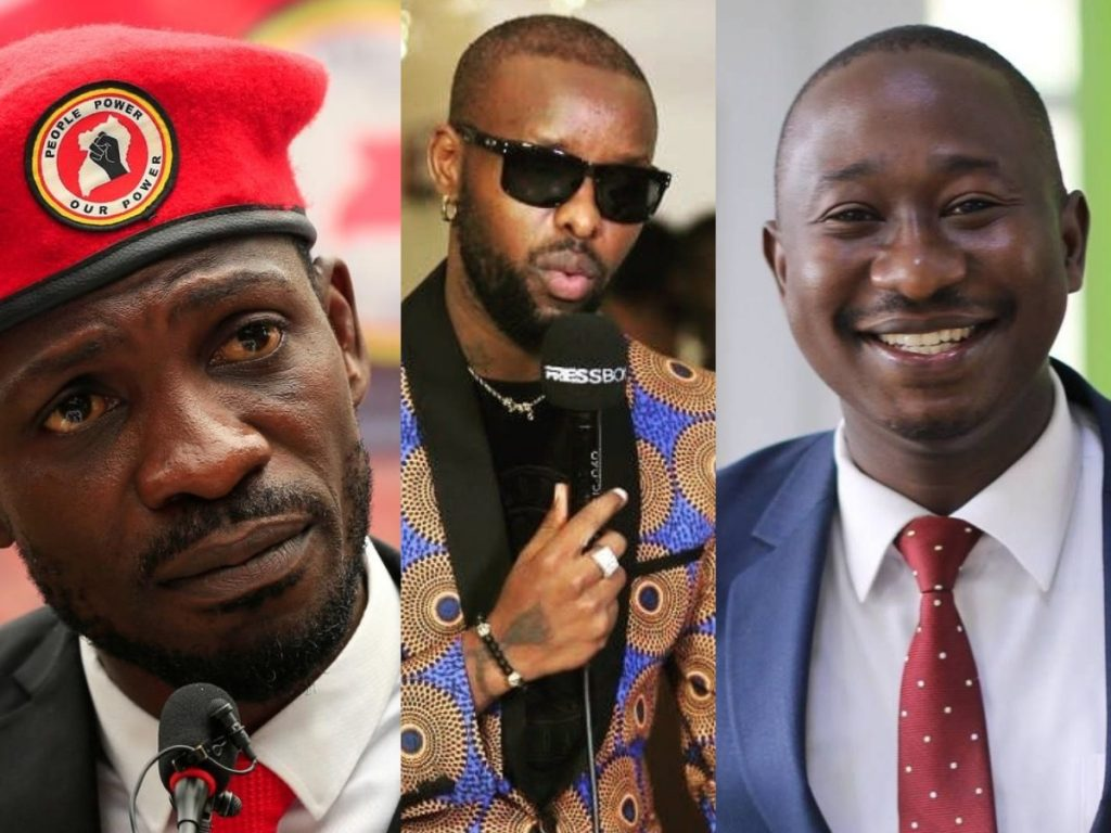 Bobi Wine, Eddy Kenzo, and Solomon Serwanja