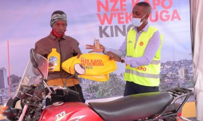 "Vivo Energy Uganda has announced a 12-week campaign dubbed ""Shell Advance Kapo W'ekibuga"" which will see over 40,000 boda riders rewarded with up to UGX 300 million worth of prizes."