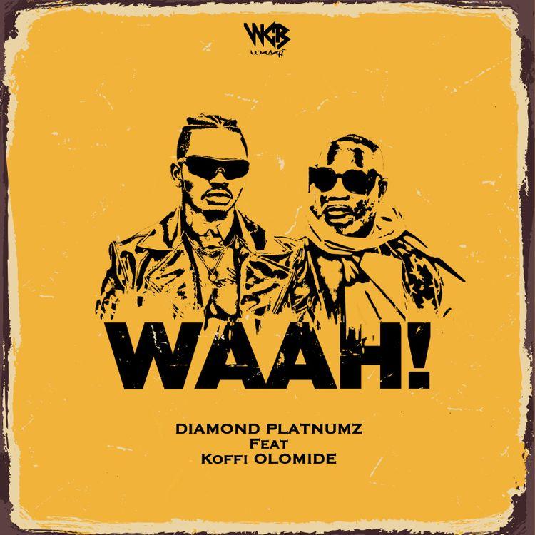 Artwork for Diamond Platnumz & Koffi Olomide's 'Waah' (Picture: Courtesy)
