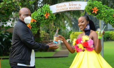 Tinah Teise has been named the brand ambassador of Uganda's premium gin – Uganda Waragi.