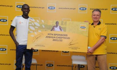 MTN Uganda has announced a one-year sponsorship deal for record breaking athlete Joshua Cheptegei.
