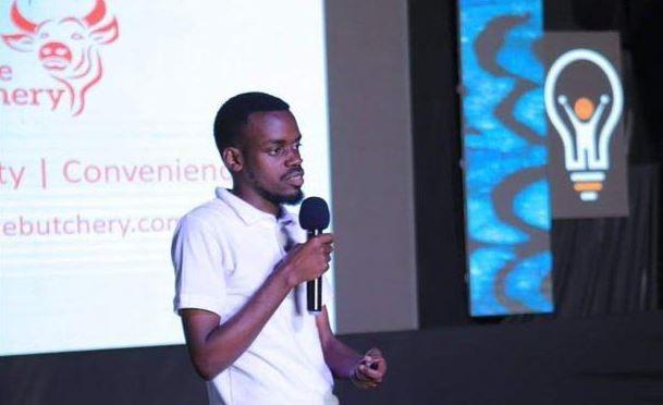Tony Ayebare, the founder of Uganda's first online butchery