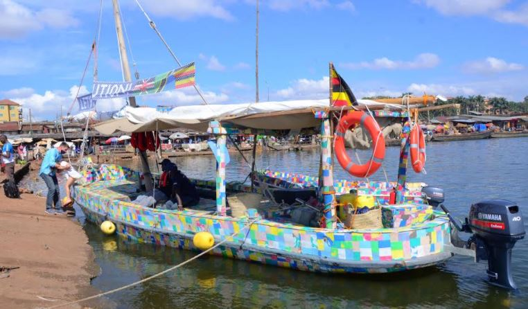 Flipflopi, the world's first sailing dhow made from 100% recycled plastic