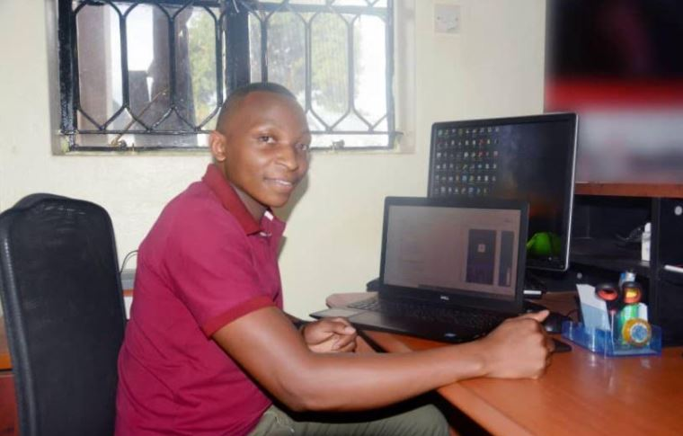 Julius Tusingwire, the founder Your Dawa Online Pharmacy