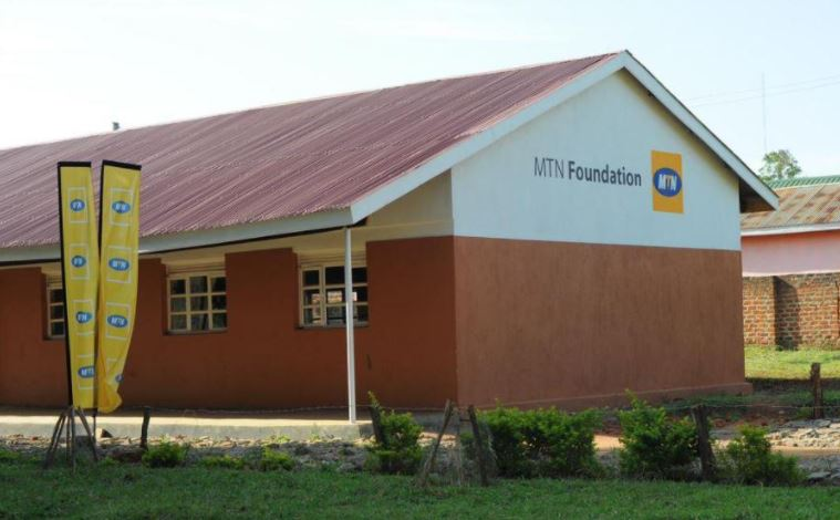 A renovated block at Busia Secondary School