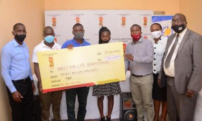Uganda Breweries Limited (UBL) has rewarded 8 youths with seed capital of UGX 7 million to boost their startup businesses.